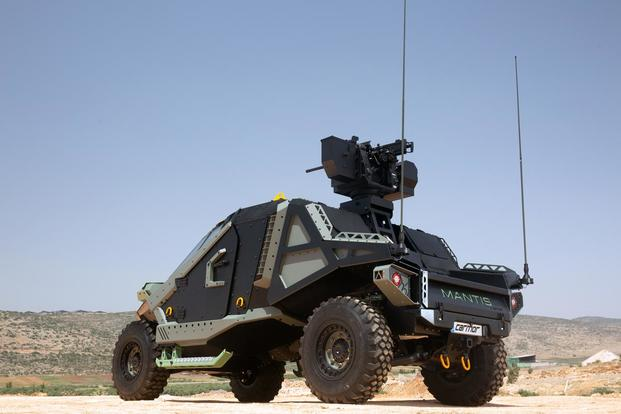 Carmor's Mantis armored vehicle. (Photo: Courtesy of Carmor Integrated Vehicle Solutions)
