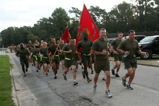 Marines jogging (Photo: U.S. Marine Corps)