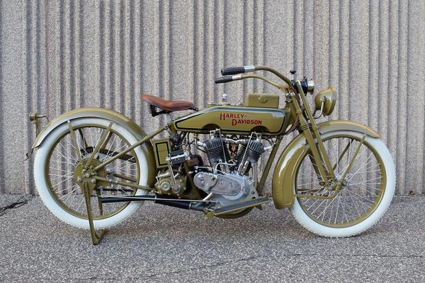 Wwi Harley Davidson Celebrates History During American Tour