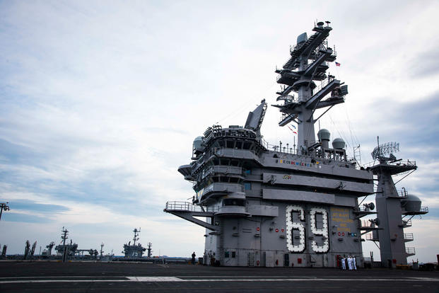 Contaminated Water Found Aboard Aircraft Carrier USS Dwight