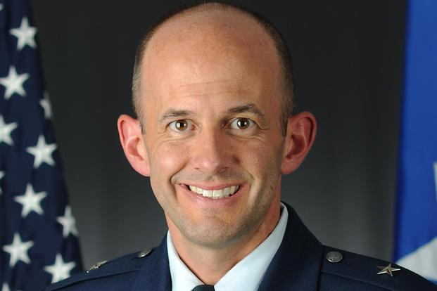 Brig. Gen. John Teichert. (Air Force photo)