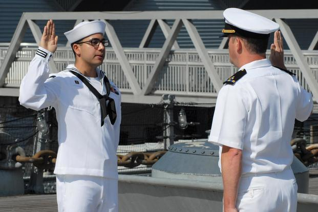 More Meritorious Promotions, Flexible Careers as Navy Fights to Keep