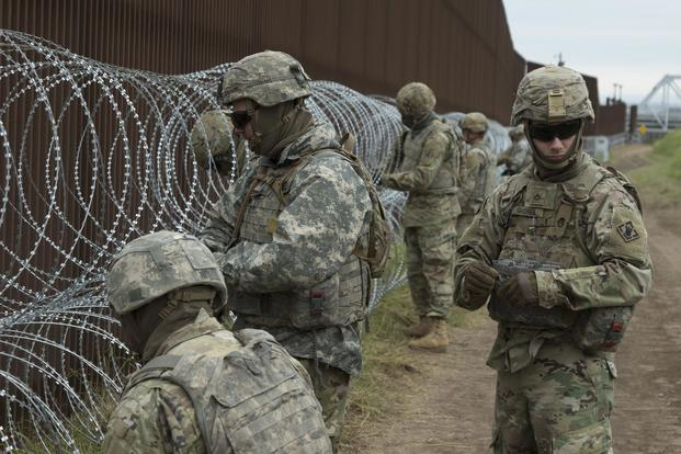 Activeduty unprotected soldiers banging