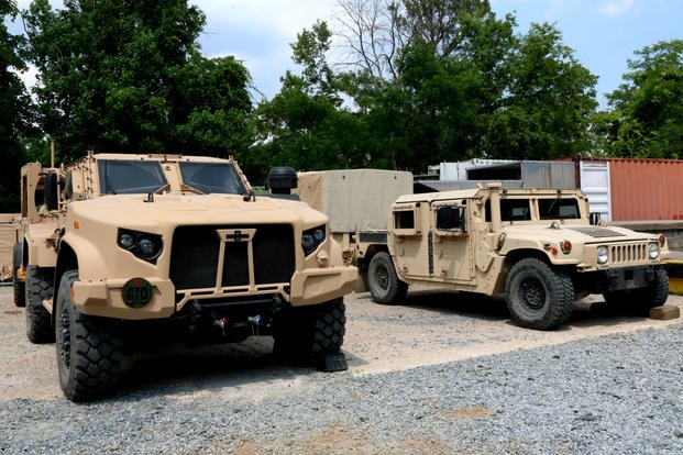 JLTV Is Tougher and Faster, but Troops Will Still Ride Into