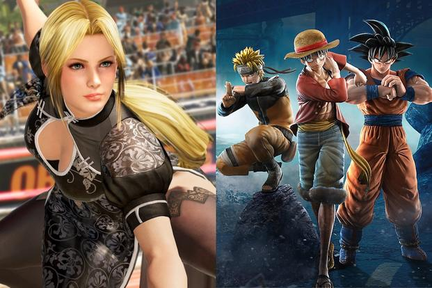 Dead or Alive 6' and 'Jump Force' Are Fighting Games With