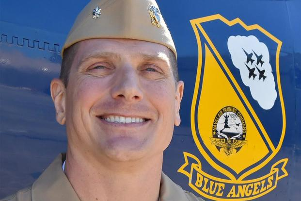 Cmdr. Brian Kesselring will lead the Blue Angels demonstration squadron for the 2020 and 2021 seasons. (U.S Navy)