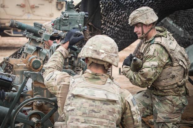 Dozens of Combat Badges Awarded During Army Unit's Advisory