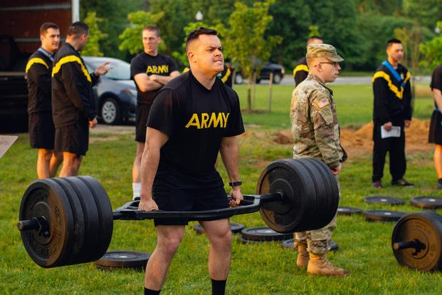 Army to Adjust Standards for New Combat Fitness Test This