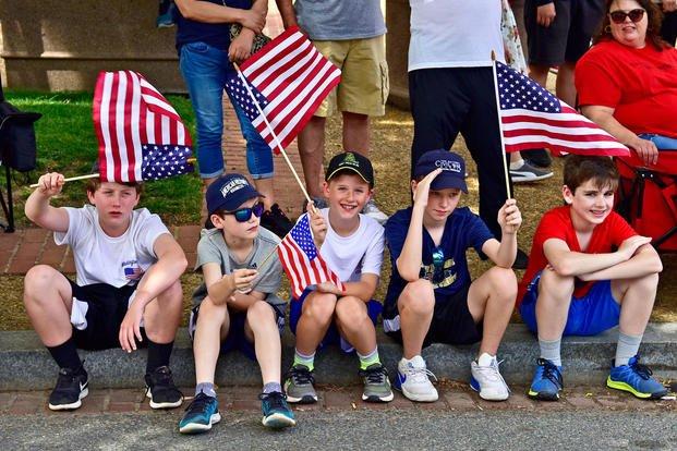 Flag Etiquette and the U S  Flag Code | Military com