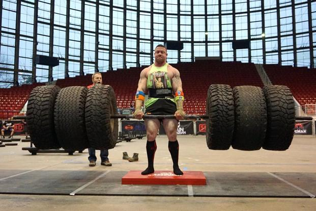 Army's Fitness Team Has World's Strongest Man in its Ranks