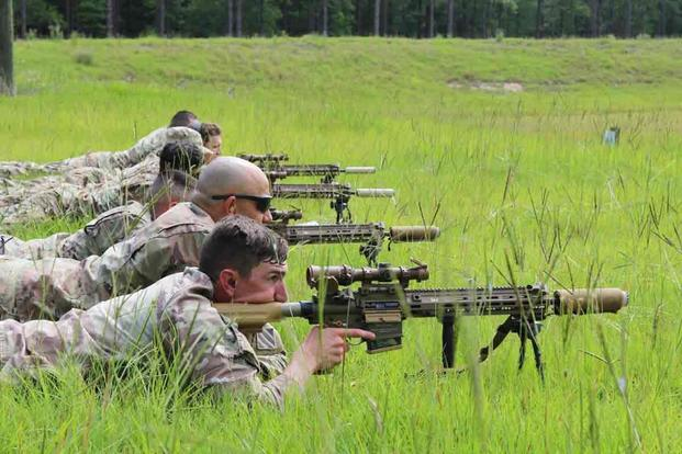 First Army Unit Gets New Squad Designated Marksman Rifle ...