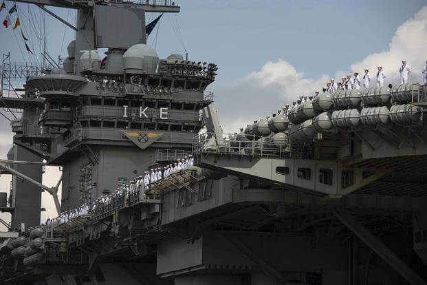 Us Navy Personnel Returning Home 2020 Christmas Extra Long Ship Deployments Aren't Hurting Sailor Retention