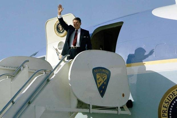 Air Force One Ronald Reagan