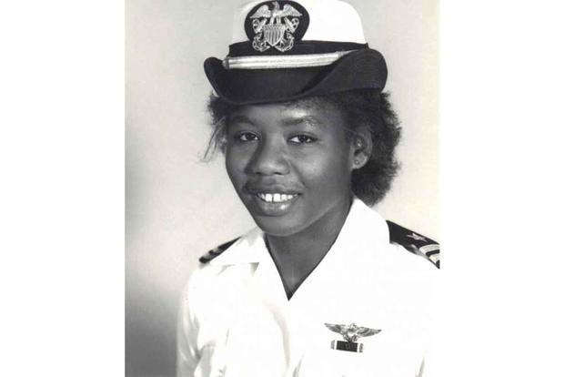 Brenda Robinson was the first Black female Navy pilot.
