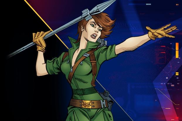 Lady Jaye GI Joe Classified