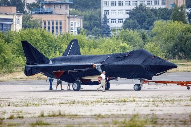 prospective Russian fighter jet