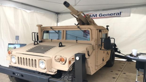 humvee mounted howitzer dazzles at modern day marine militarycom