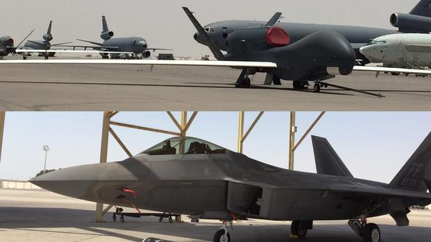 Air Force Acknowledges Clandestine Base in UAE | Military.com on qatar u.s. army base 2014, al dhafra air base map, qatar us air force, qatar al udeid air base, al udeid air base map, qatar country banner, qatar military 2013, qatar army base map,
