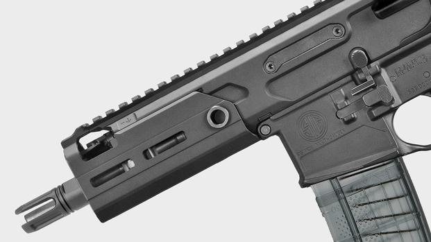 Sig Sauer's new MCX Rattler includes a free-floating handguard (Sig Sauer photo)