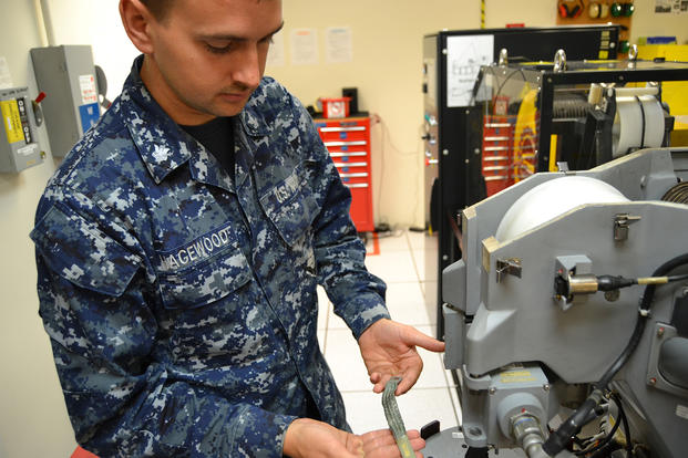 Sailor Operating Technical Equipment