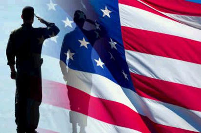 Salute the flag in civilian clothes
