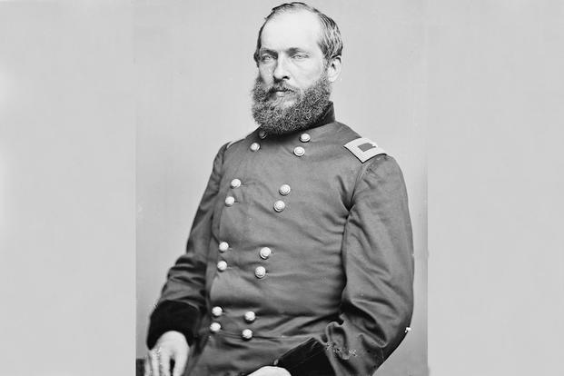 James Garfield as a brigadier general during the Civil War.