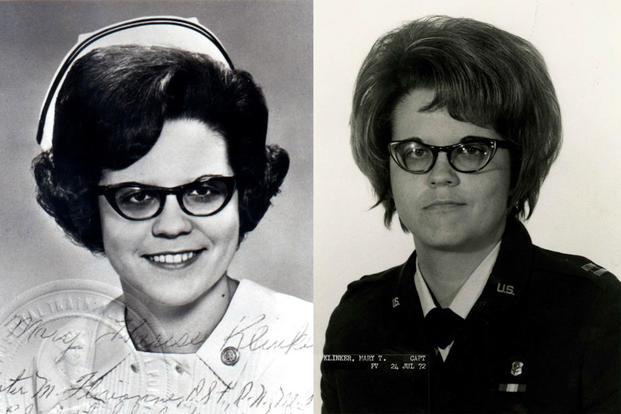 Capt. Mary Klinker was 27-years-old when she died April 4, 1975 when the first aircraft supporting Operation Babylife crashed. Klinker was the last nurse and the only member of the Air Force Nurse Corps to be killed in Vietnam. (Photos: U.S. Air Force)