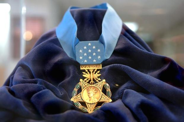Medal of Honor on cloth