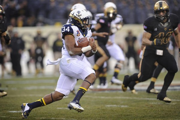 Navy football fullback.