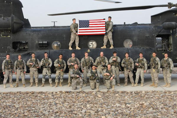 2nd Ranger Battalion deployed in Afghanistan.