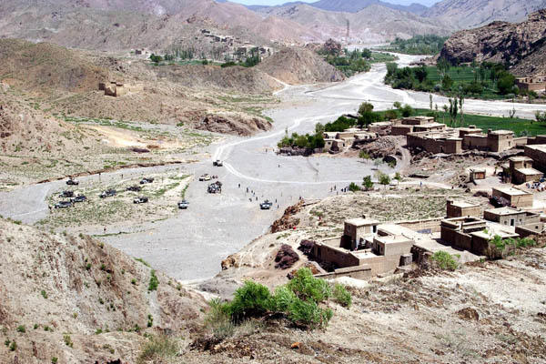 Tora Ray village in Afghanistan.