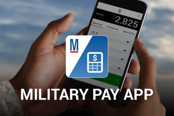 Military Pay app by Military.com