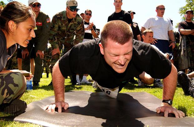 Usaf Fitness Program Military Com