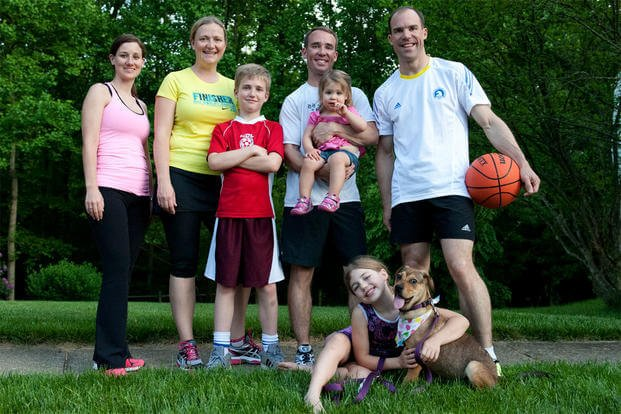 Health Officials Advise Active Family Lifestyles