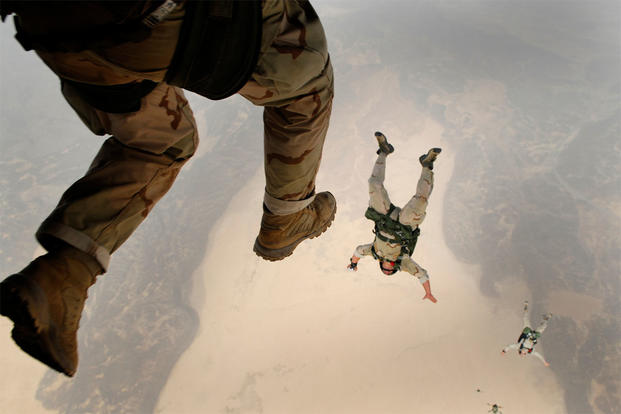 Elegant US Air Force Pararescue Jumper Fact Sheet