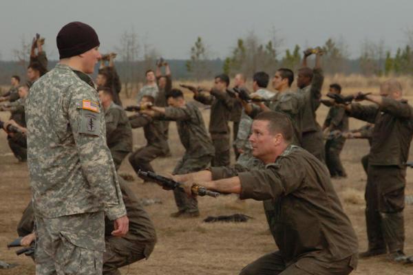 Army having the right attitude