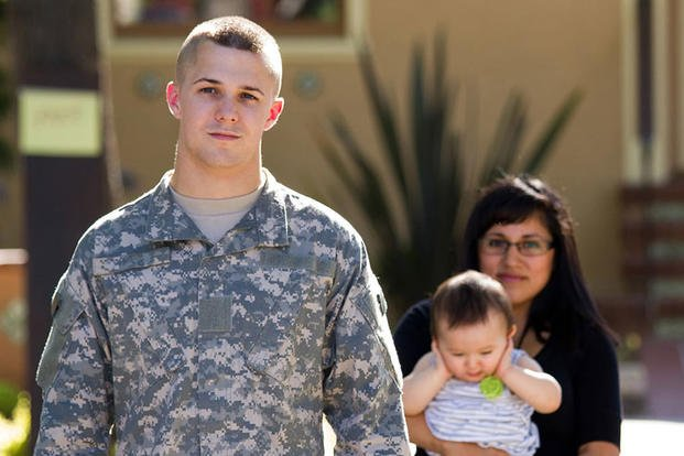 Young Servicemember and Family