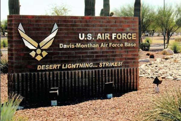 Photo from Davis-Monthan AFB official base guide (Air Force Photo via Wikapedia)