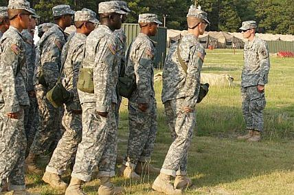 The Army's top drill sergeants prepare for the Drill Sergeant of the Year competition