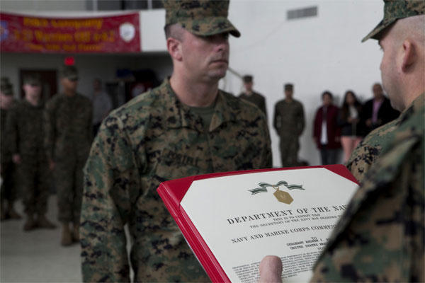Marine Recognized For 1000 Funeral Honors Military