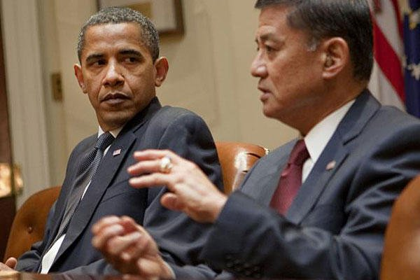 President Obama and VA Secretary Eric Shinseki