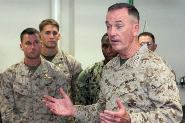 Dunford S Ground Combat Experience Factored In Obama S