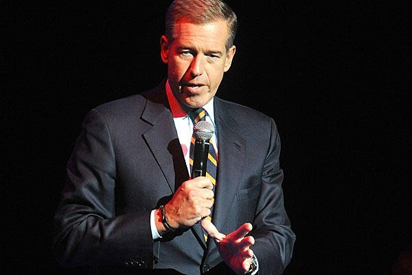 In this Nov. 5, 2014, file photo, Brian Williams speaks at the 8th Annual Stand Up For Heroes, presented by New York Comedy Festival and The Bob Woodruff Foundation in New York. Brad Barket/Invision/AP