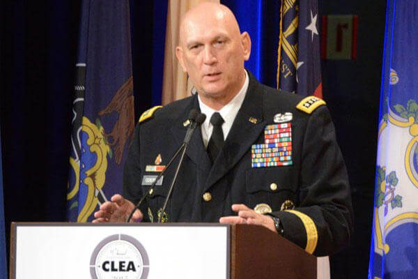 Army Chief of Staff Gen. Ray Odierno speaks during the 11th Annual Chief of Staff of the Army's Combined Logistics Excellence Awards ceremony at the Pentagon, June 10, 2015. (U.S. Army photo)