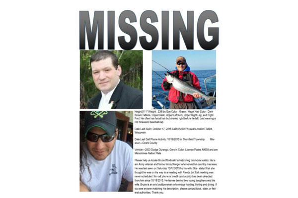 A missing post for Bruce Windorsky circulated Facebook. (Facebook.com)