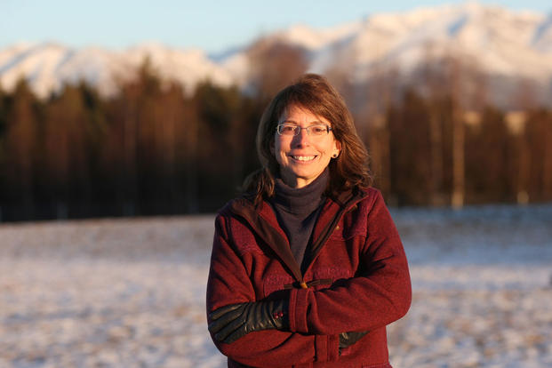 Margaret Stock, a retired Army Reserve Military Police officer, immigration lawyer and MacArthur fellow, plans to challenge Lisa Murkowski, a Republican from Alaska, for her seat in the U.S. senate. (Photo courtesy Margaret Stock)