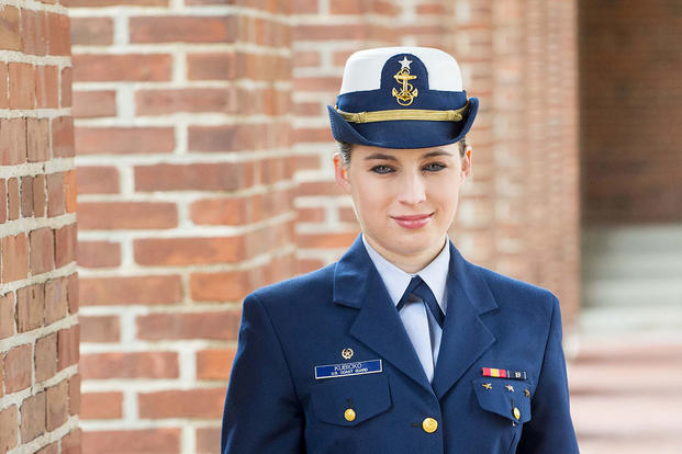 Cadet First Class Jacquelyn Kubicko (U.S. Coast Guard/PO2 Richard Brahm)