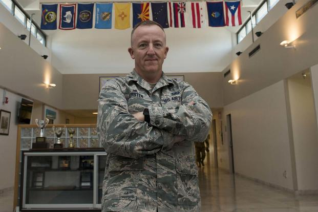 U.S. Air Force Lt. Col. Michael Kersten, 39th Medical Support Squadron commander, poses for a photo inside the medical facility Aug. 23, 2016, at Incirlik Air Base, Turkey.. (U.S. Air Force photo by Senior Airman John Nieves Camacho)
