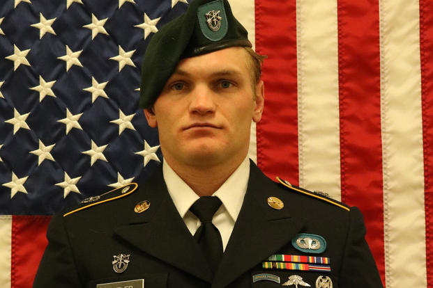 Staff Sgt. Aaron Butler, a Green Beret, died Aug. 16, 2017 in Afghanistan. (U.S. Army photo)