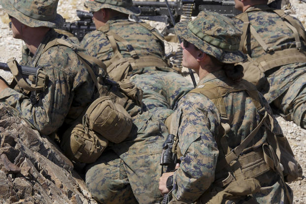 Second Female Marine Graduates From Infantry Officers
